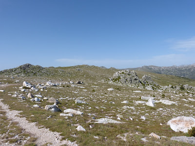 Affleurements calcaires Pyrénées catalanes