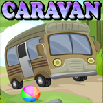 Games4King Caravan Escape Walkthrough