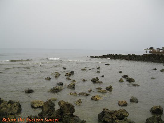 Rocky beach of Catadman Lodge