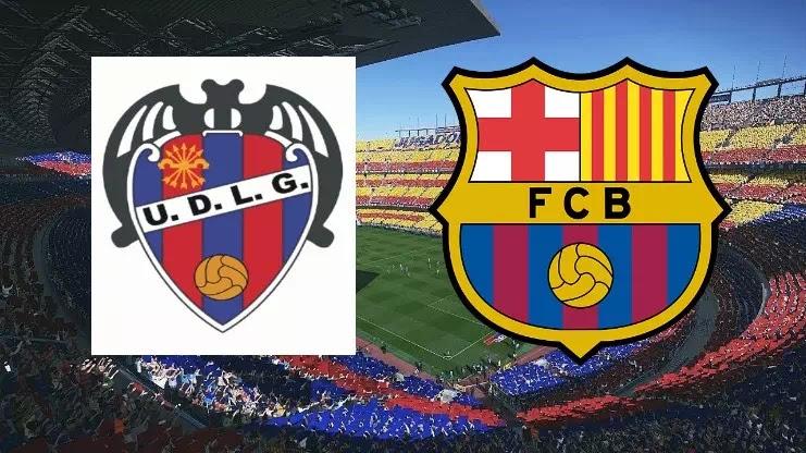 موعد مباراة برشلونة وليفانى والقنوات الناقلة