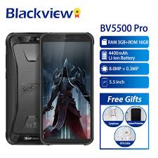 Hape Outdoor Blackview BV5500 Pro New 4G LTE RAM 3GB ROM 16GB IP68 Certified