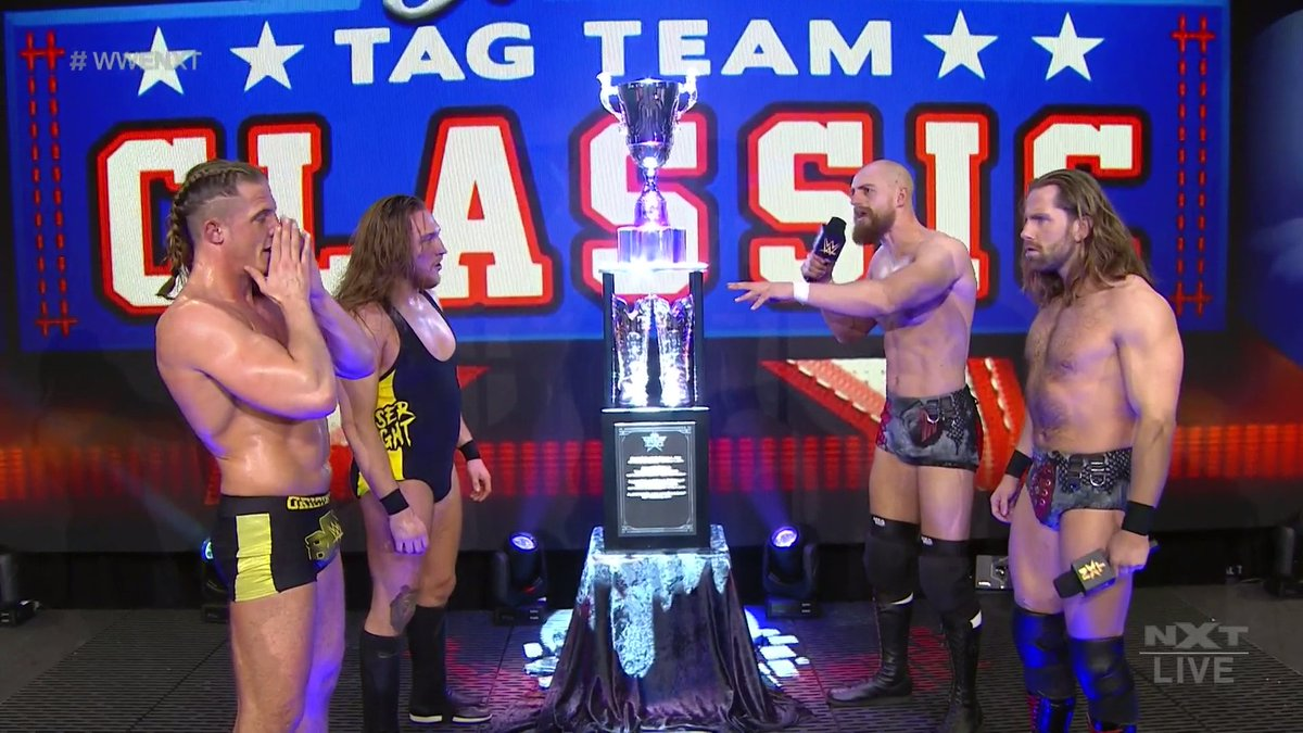 WWE alterou os vencedores do Dusty Rhodes Classic de 2020