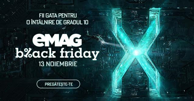EMAG Black Friday 13.11 2020 → pana la 70% reducere