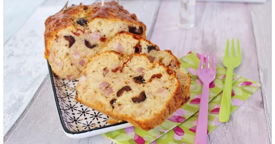 Petit Cake Aux Olives Et Lardons