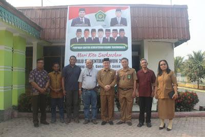 Kakankemenag Terima Kunjungan Pimpinan Gereja Khatolik Tanjungbalai