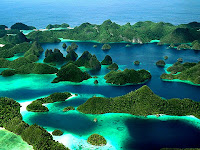 Pesona Keinadahan Alam Raja Ampat Papua
