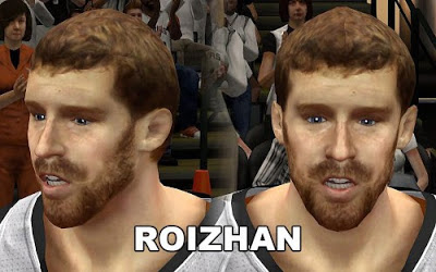 NBA 2K13 Matt Bonner Cyberface Patch