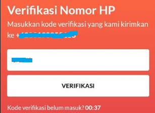 verifikasi akun flip