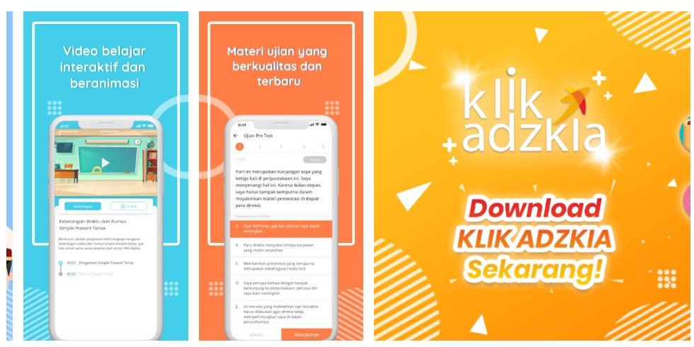 gambar Aplikasi Latihan Soal P3k Guru 2021 Berbasis Android