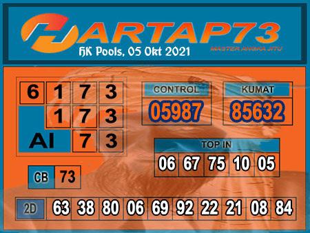 Hartap73 HK Selasa 05 Oktober 2021 -