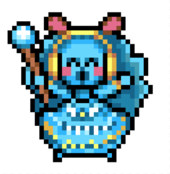 blizzaurus super princess peach sprite