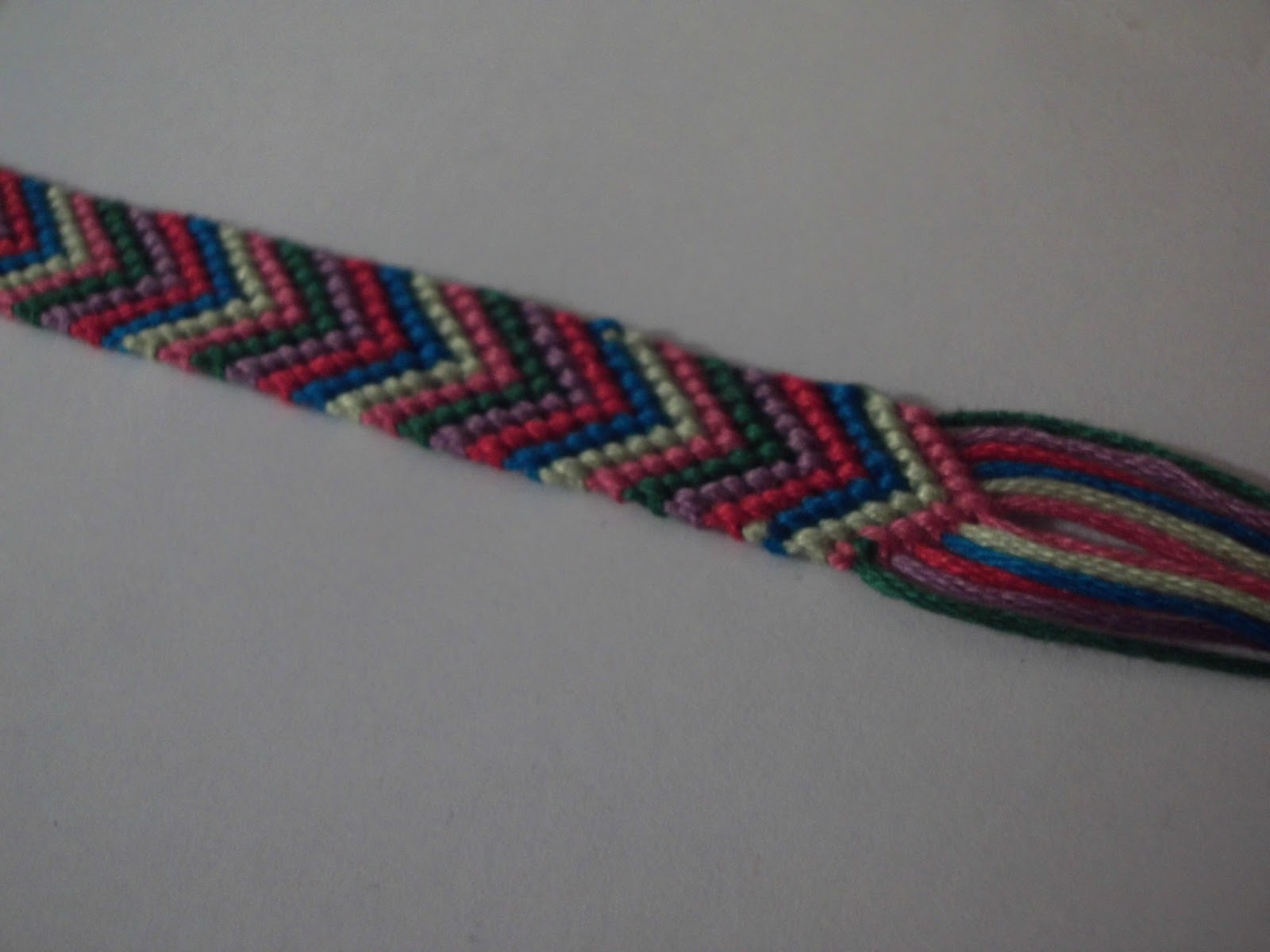 vovs jewellery blog chevron pattern friendship bracelet