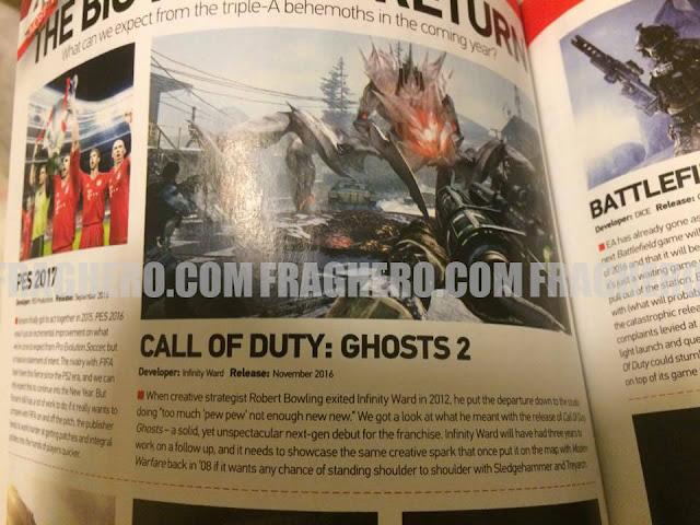 Call of Duty: Ghost 2 sería la próxima entrega 1