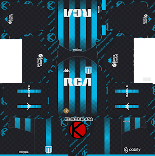Racing Club 2019/2020 Kit - Dream League Soccer Kits