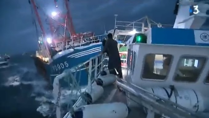 Морской бой в Ла-Манше: французские рыбаки пошли на таран британских сейнеров