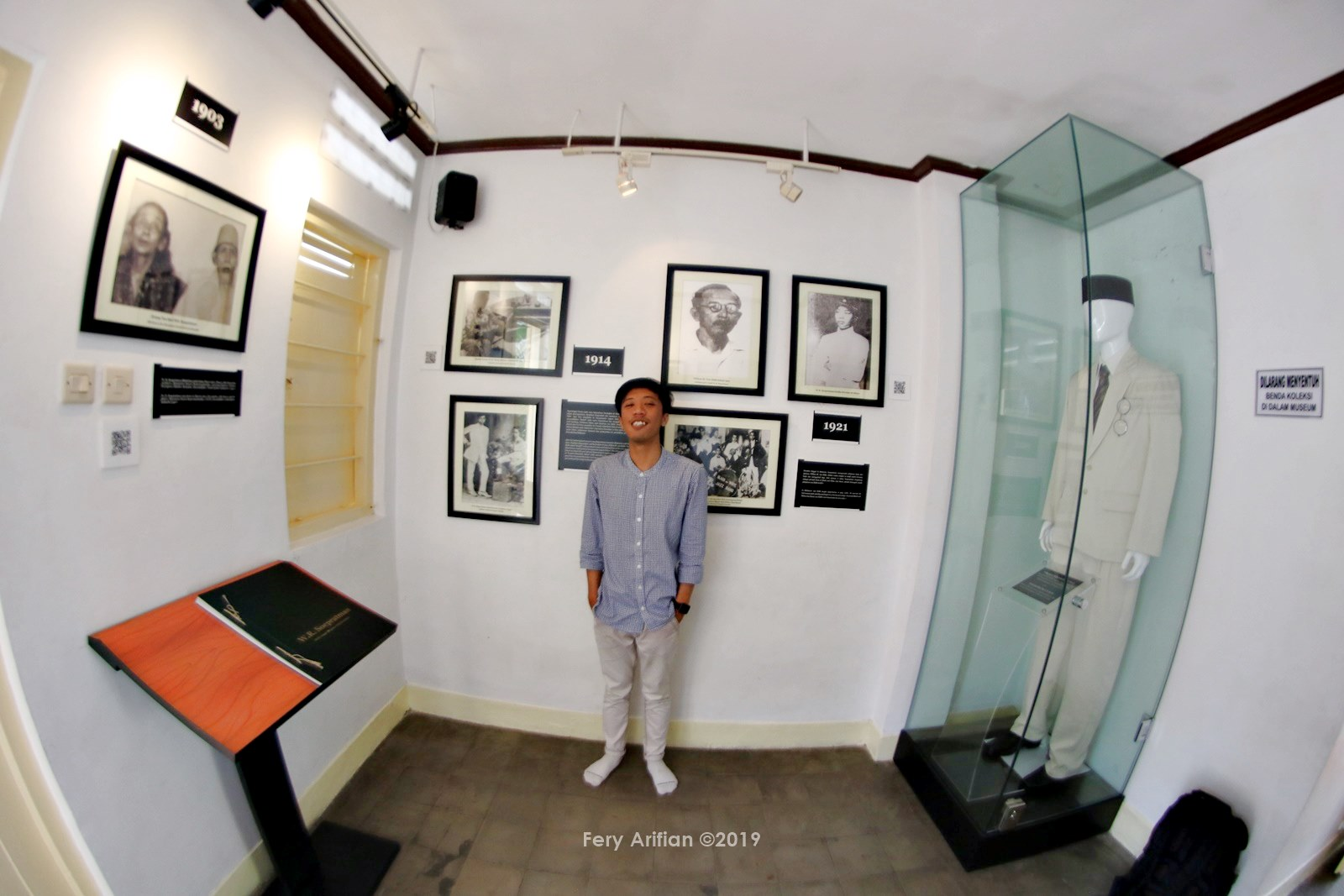 Museum WR Soepratman - Jelajah Wisata Surabaya