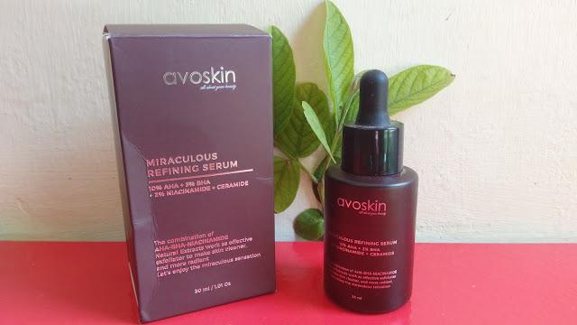 Review Avoskin Miraculous Refining Serum