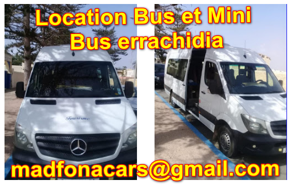 rent a Bus or Mini Bus in errachidia
