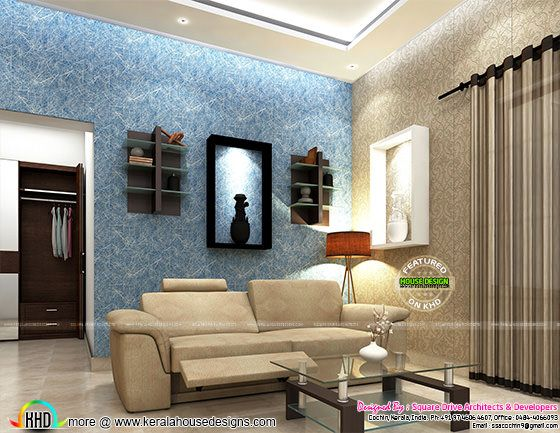 Interior design Kerala - Living room
