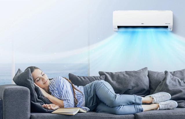 Tips memilih AC untuk sebuah ruangan : LG Dual Cool Series