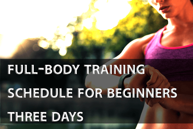 full-body training schedule for beginners three days