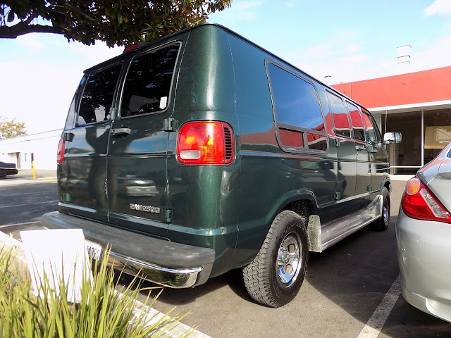 1997 Dodge Van after complete paint job at Almost Everything Auto Body.