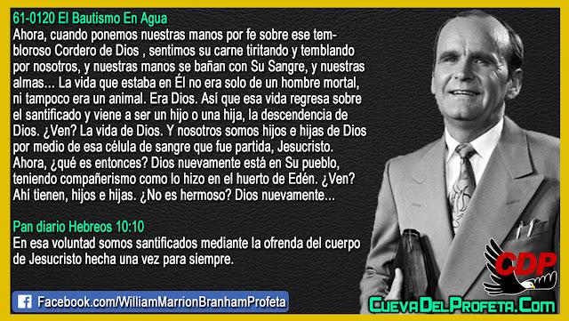 El Secreto de la vida de Dios - William Branham en Español
