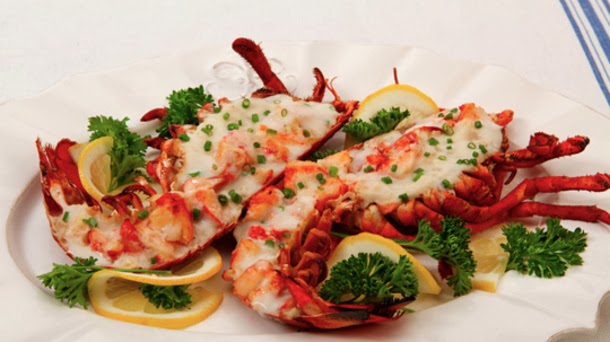 World Of Cuisines Lobster Thermidor French Lobster Delicacy Having A Little Cognac