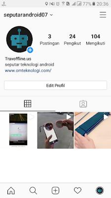 Cara Melihat Akun Yang Baru Kita Follow Di Instagram