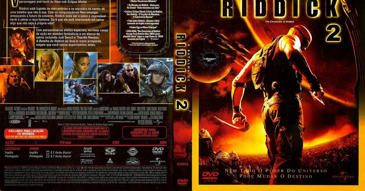 CAPAS DVD VIDEO JP: RIDDICK 2 A BATALHA DE RIDDICK