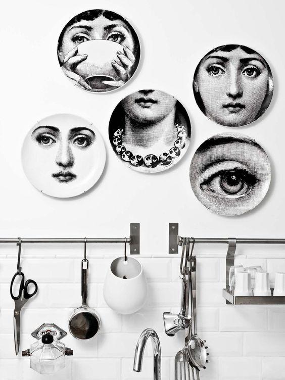 Fornasetti tasarımları