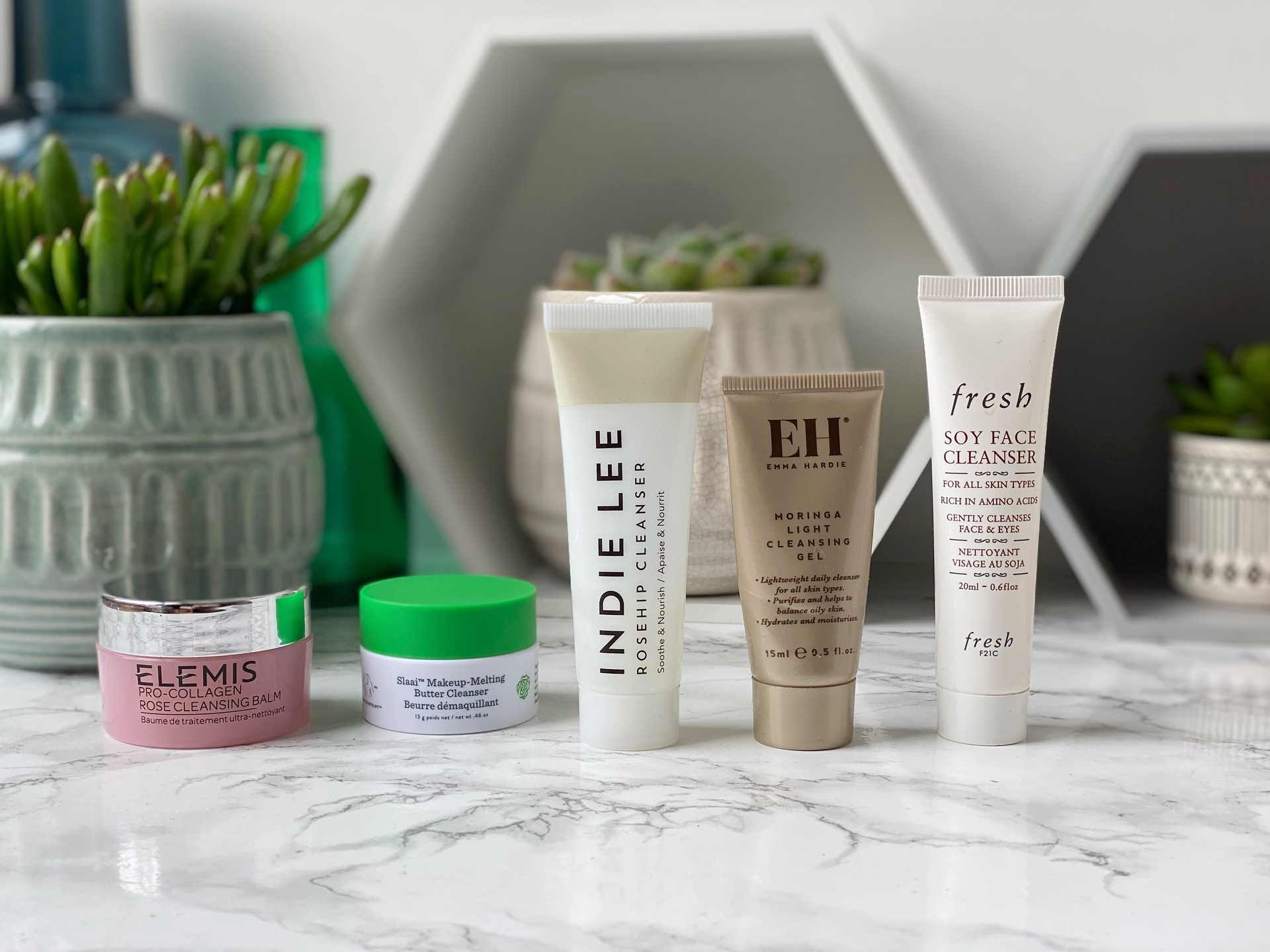 cleanser review Elemis Emma Hardie fresh indie lee
