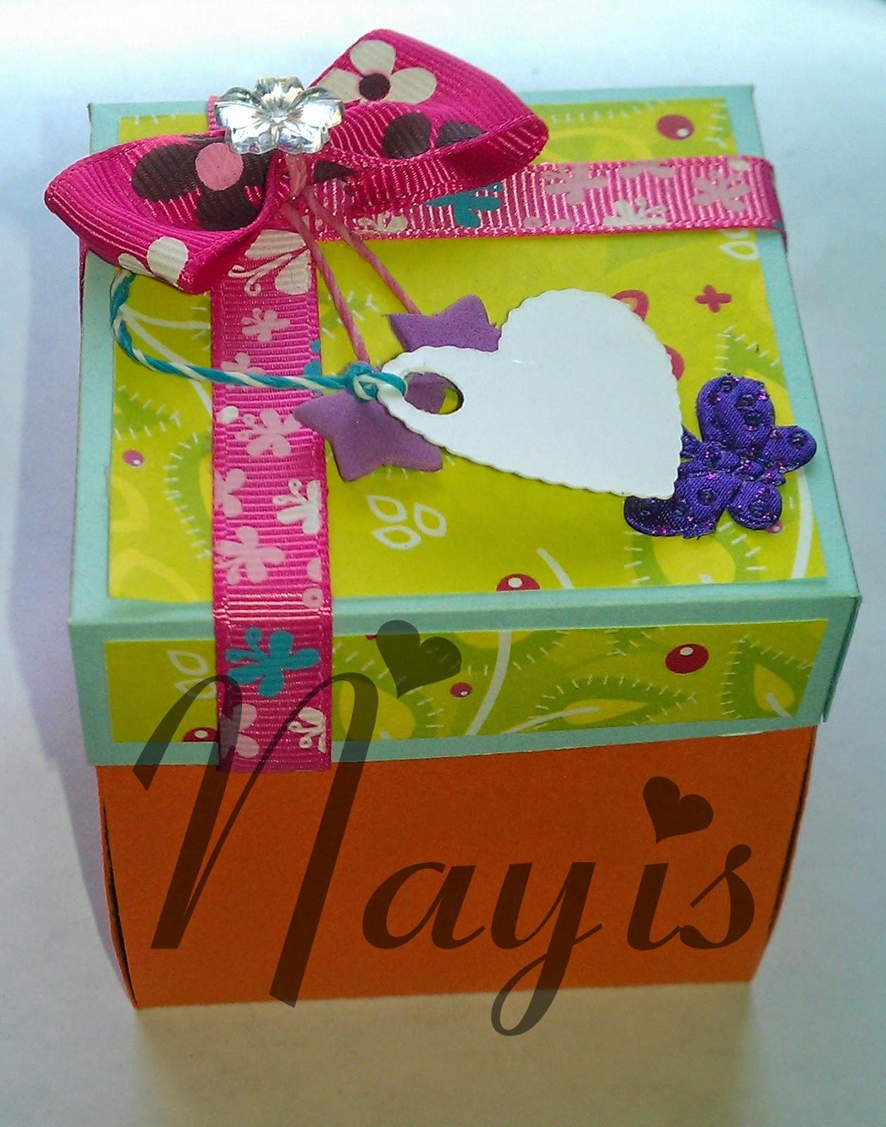 explosion box happy birthday cajita explosiva cumpleaños