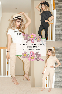 Style sure to make heads turn by Femme Luxe