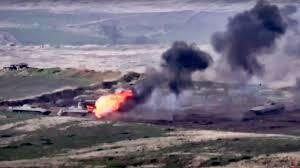 Armenia and Azerbaijan in clashes over disputed Nagorno-Karabakh region