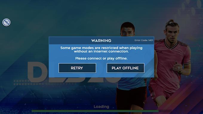 Tại sao Dream League Soccer 2020 yêu cầu kết mạng để chơi?