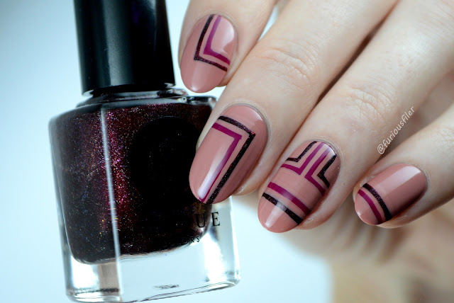 furious filer freehand stripes fashion trend nail art