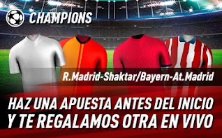 sportium promo champions R.Madrid / Atlético 21-10-2020