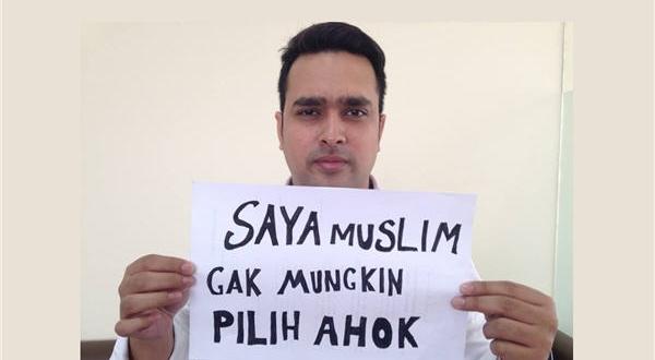 """Saya Muslim, Gak Mungkin Pilih Ahok"""