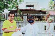 Tim GODAS Voor JPAR Salurkan Bantuan Kepada Warga Kelurahan Perkamil