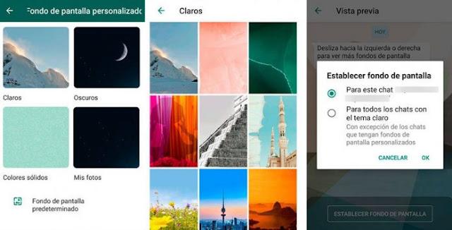 ¿Cómo personalizar cada chat de WhatsApp?