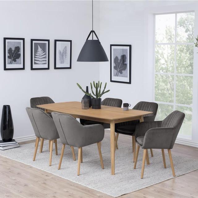 Czy zamszowe krzesła nadadzą się do jadalni?