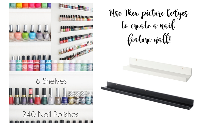 diy-nail-polish-display-wall