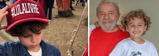 Lula seguirá para São Paulo para velar o neto em avião do governo do Paraná