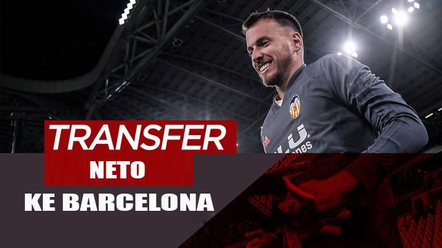 Klub Barcelona Resmi Boyong Neto Dari Valencia