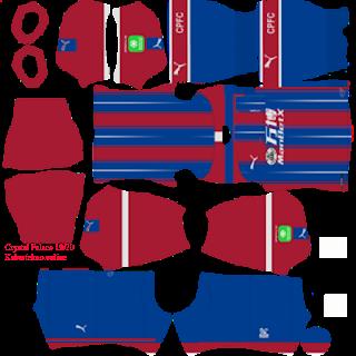 Crystal Palace Puma 2019/2020 Kit, Dream League Soccer 2020