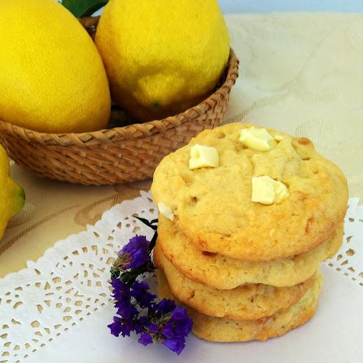Cookies de limón & chocolate blanco - Sweetter