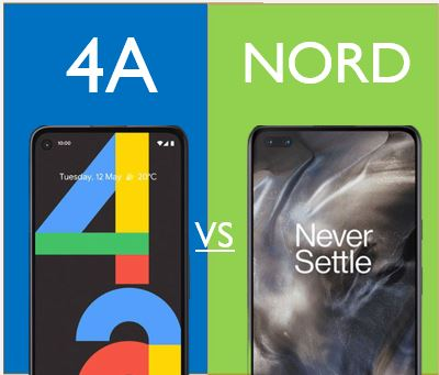 pixe 4a vs oneplus nord