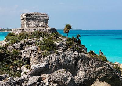 Escápate a TULUM, las ruinas Mayas más bellas, pequeñas pero impresionantes.