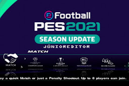 PES 2021 European Patch Junior Editor English Version PS2 ISO